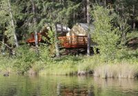 tom stienstra californias 25 best cabins on golden ponds Lake Cabin California
