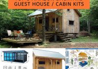 top 3 backyard guest house or cabin kits home and Backyard Cabin Kits
