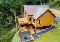 tree top cabin on the shenandoah river has air conditioning Cabins Near Luray Va