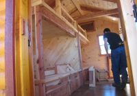 trophy amish cabins llc 10 x 20 bunkhouse cabinshown in Small Cabin Plans With Loft 10 X 20