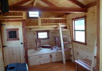 trophy amish cabins llc 10 x 20 hunter 200 sf Small Cabin Plans With Loft 10 X 20