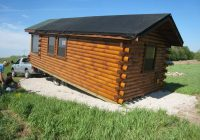 trophy amish cabins llc delivery Ready Made Log Cabin