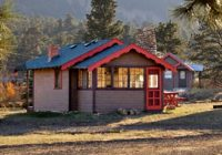 true americana review of tiny town cabins estes park co Cabins In Estes Park Co