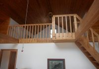 two bedroom cabin with loft on private access lake gorgeous lake view hackensack Cabin With Loft