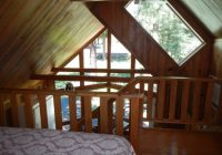 upstairs loft of cabin 2 picture of trout lake cozy Trout Lake Cabins