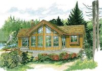 vacation homes cabins house plans home design sea232 7236 Cabin House Plans