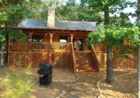 view of back porch of the texas star lake house picture of Texas Lake Cabins