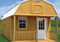 wacobuildings affordable quality storage buildings 16×40 Deluxe Lofted Barn Cabin