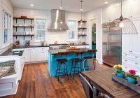 wahoo lake house kitchen eclectic kitchen chicago Lake Cabin Kitchen