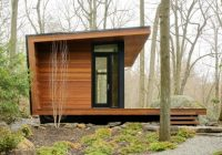 warm woodsy modern cabins from architizer house exterior Small Modern Cabin