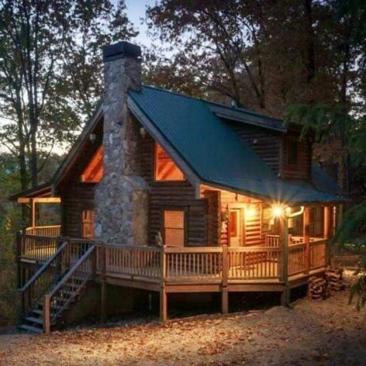 Permalink to Cozy Small Wooden Cabin Ideas