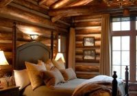 what exactly are cabin colors in 2021 log home bedroom Cabin Bedroom Ideas