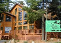 wisconsin cabin rentals vacation rentals resorts Lake Cabin Rentals Wisconsin