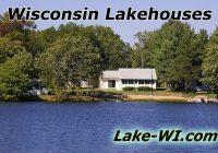 wisconsin lakehouses for sale wi lakefront log homes Lake Cabin For Sale Wisconsin