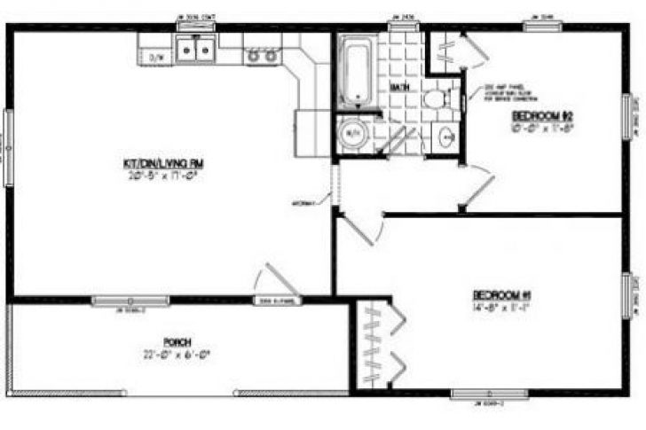 Permalink to Simple 24×24 Cabin Plans