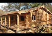 wow small log cabin homes youtube Small Log Cabin