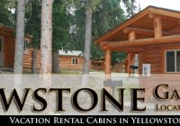 yellowstone cabin rentals West Yellowstone Cabins