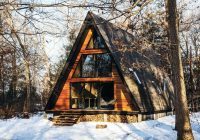 your guide to a weekend at new jerseys lokal a frame cabin A Frame Cabin