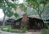 zion lodge cabin picture of zion lodge zion national Cabins In Zion National Park